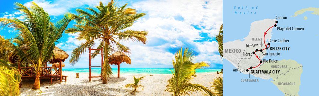 10 Day Cancun to Antigua - Rush Adventures