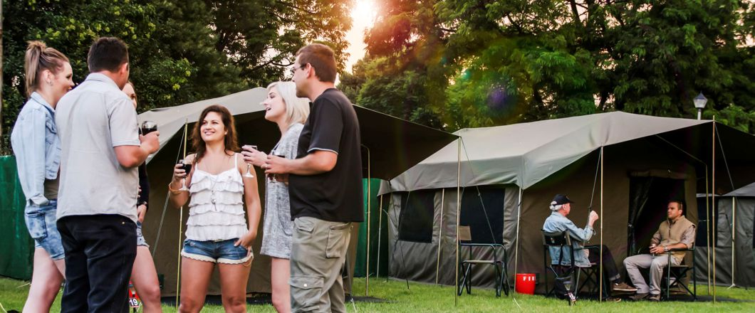 Tent Hotel Hire